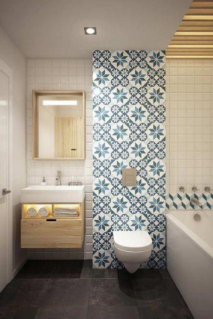 Banheiros Decorados Com Faixas